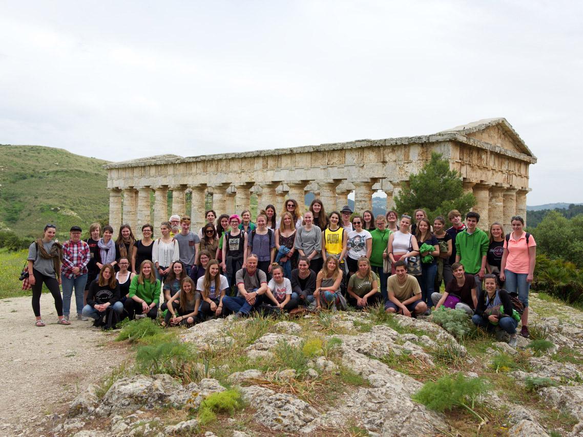 Sizilienreise des Oberstufenchors der KRW